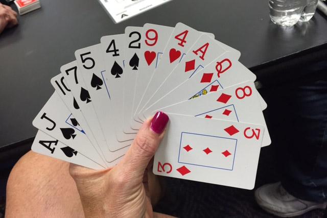 Bid Your Game or Go Home Bridge Hand